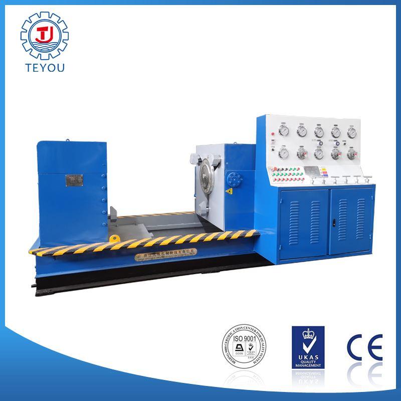 工业过程控制阀压力试验设备-抱压式控制阀压力试验台